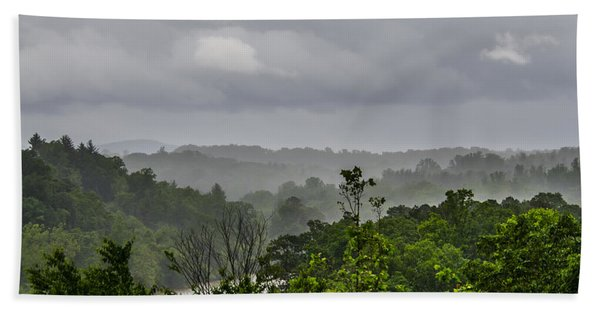 Bath Towel featuring the photograph French Broad River by Carolyn Marshall