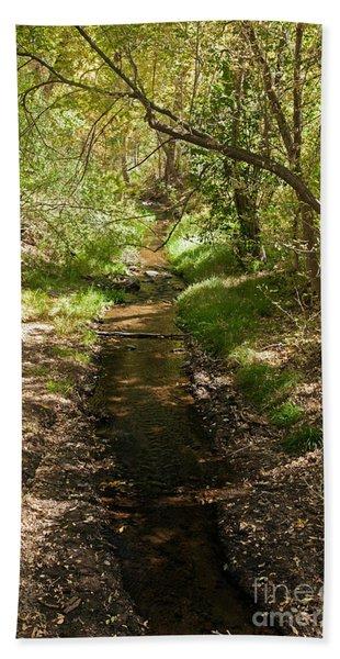 Frijole Creek Bandelier National Monument Hand Towel