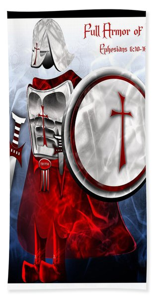 Full Armor Of God Hand Towel