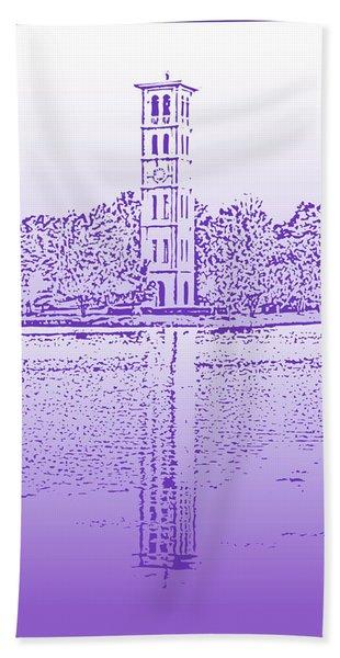 Furman Bell Tower Bath Towel