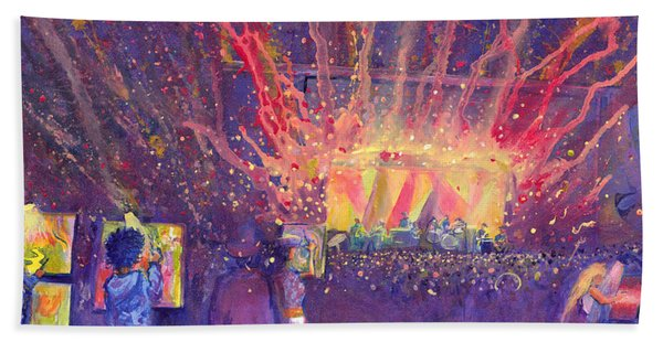 Galactic At Arise Music Festival Hand Towel