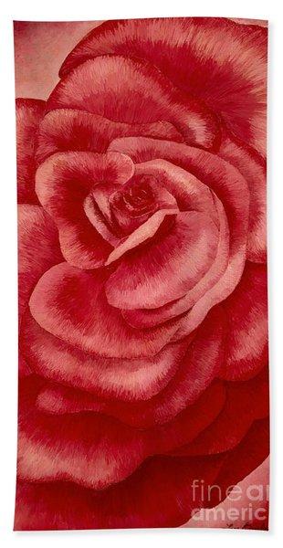 Garden Rose Bath Towel