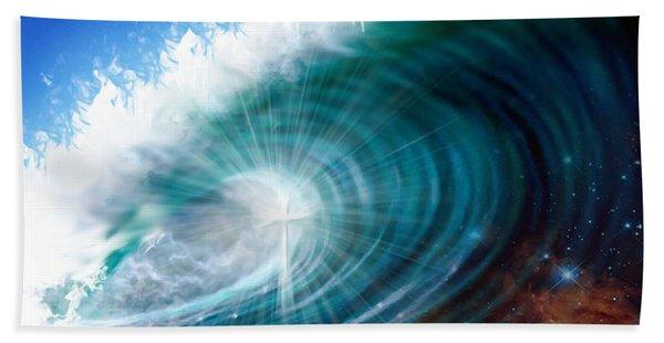 Glory Waves Hand Towel