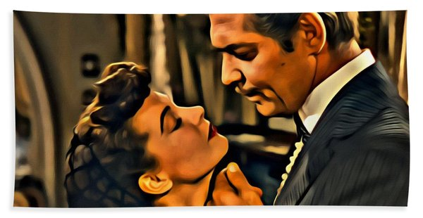Gone With The Wind Hand Towel