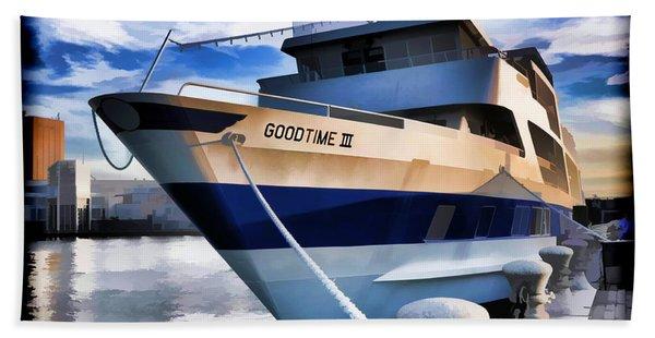 Goodtime IIi - Cleveland Ohio Bath Towel