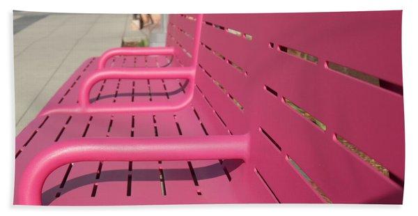 Grand Park Pink Hand Towel