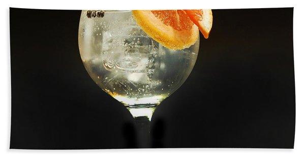 Grapefruit Gin Tonic Hand Towel