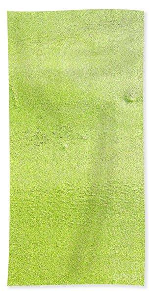 Green Bath Towel