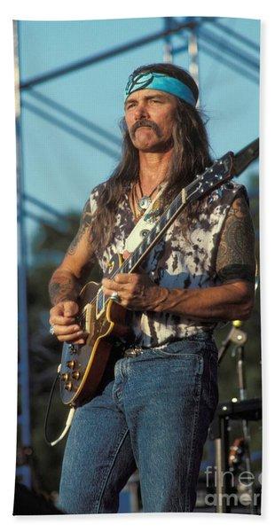 Guitarist Dickie Betts Hand Towel