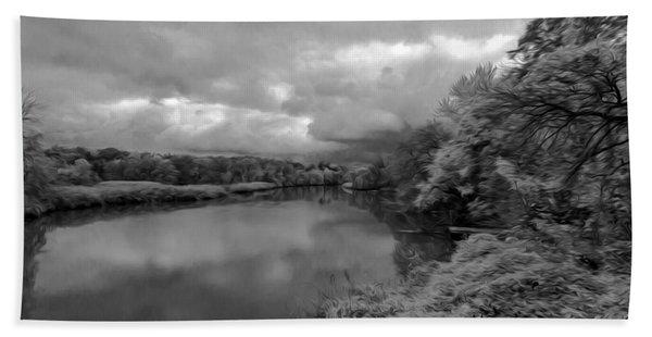 Hackensack River Bath Towel