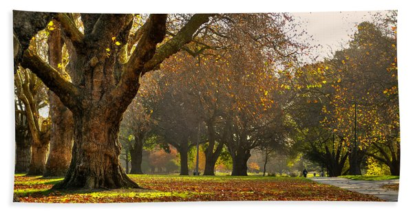 Hagley In Autumn Hand Towel