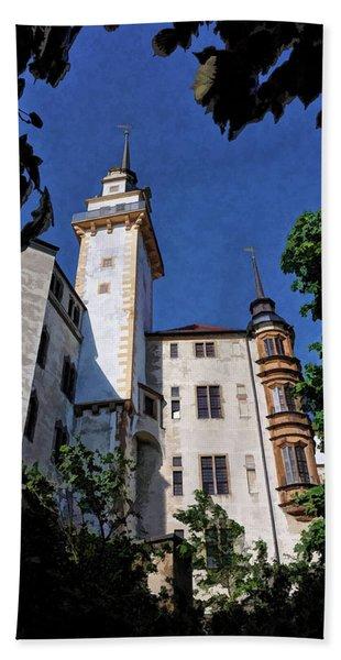 Hartenfels Castle - Torgau Germany Bath Towel