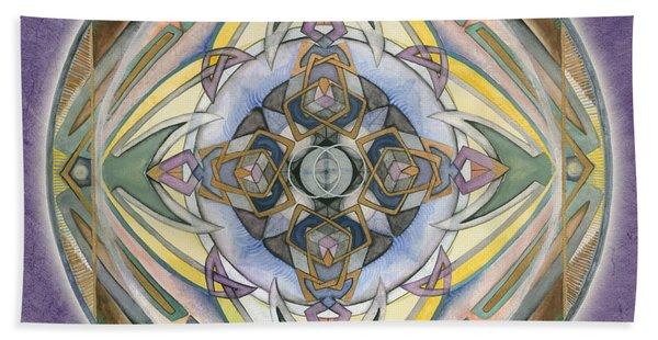 Healing Mandala Hand Towel