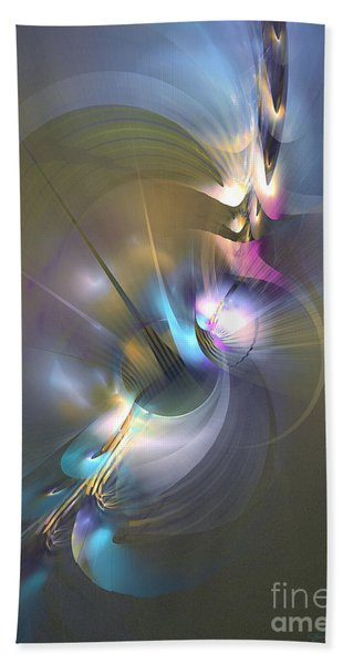 Heart Of Dragon - Abstract Art Bath Towel
