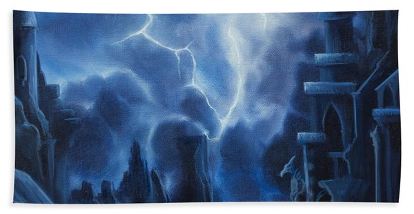 Heisenburg's Castle Hand Towel