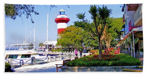 Hilton Head Lighthouse Hand Towel