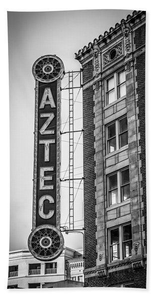 Historic Aztec Theater Bath Towel