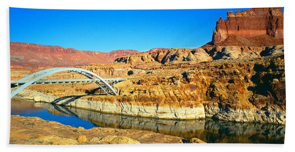 Hite Overlook And Cataract Canyon Hand Towel