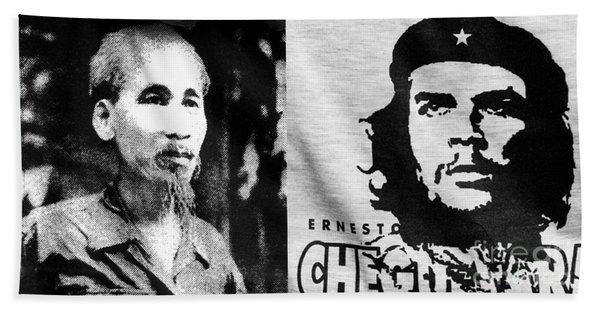 Ho Chi Minh And Che Guevara Bath Towel