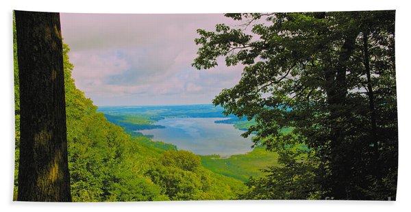 Honeoye Lake Bath Towel