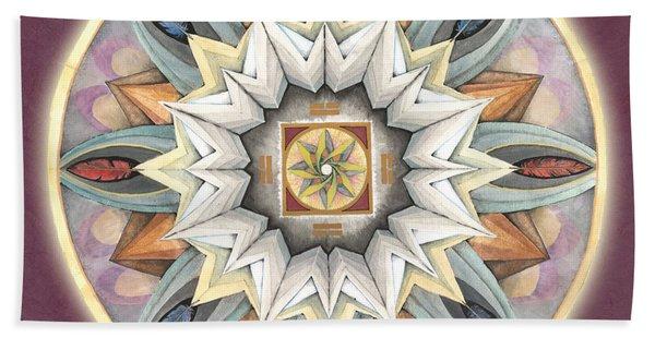 Honor Mandala Bath Towel