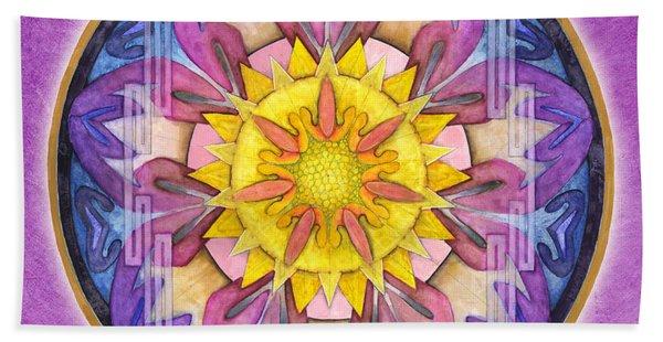 Hope Mandala Hand Towel