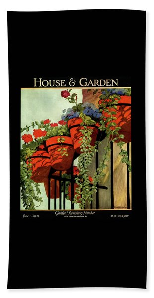 House And Garden Garden Furnishing Number Cover Bath Towel