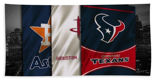 Houston Sports Teams Hand Towel