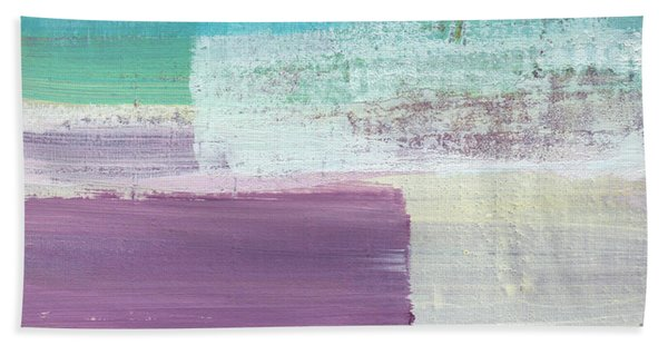 Hydrangea- Abstract Painting Hand Towel
