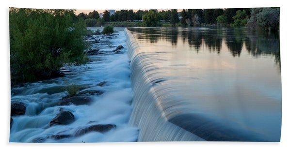 Idaho Falls Sunset Bath Towel