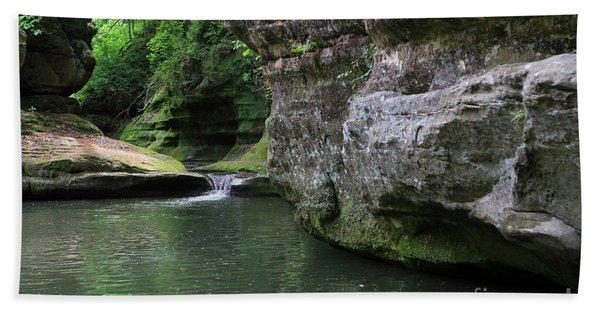 Illinois Canyon May 2014 Hand Towel