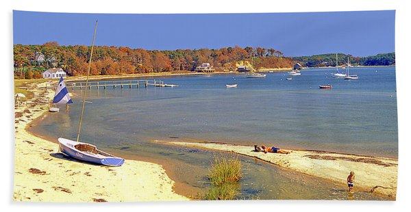 Indian Summer Afternoon Pleasant Bay Cape Cod Massachusetts Bath Towel
