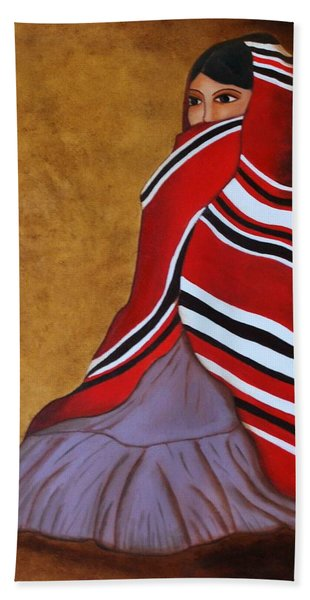 Introspection Bath Towel