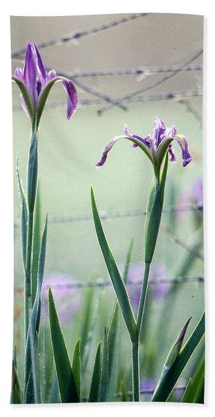 Irises2 Bath Towel
