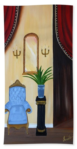 Its Time To Reflect Bath Towel