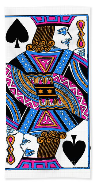 Jack Of Spades - V3 Bath Towel