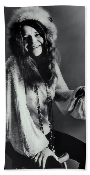 Janis Joplin Hand Towel