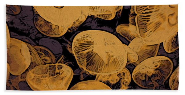 Jellyfish Kingdom Hand Towel