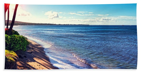 Kaanapali Beach Bath Towel