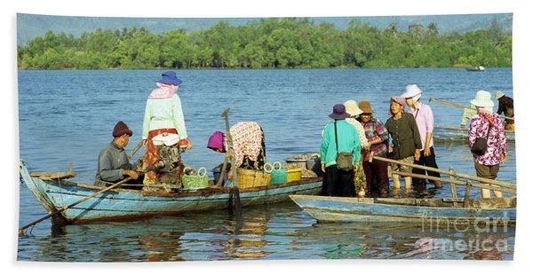 Kampot River Bath Towel