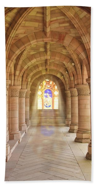 Kelso Abbey Stained Glass Bath Towel
