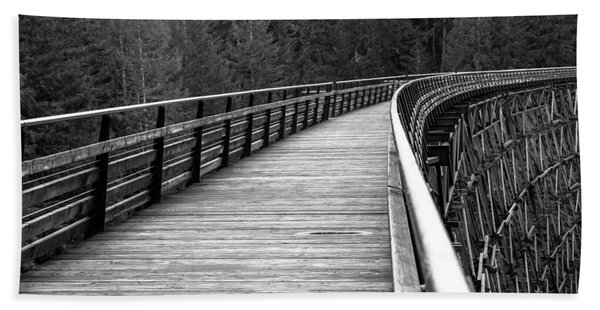 Kinsol Trestle Boardwalk  Bath Towel