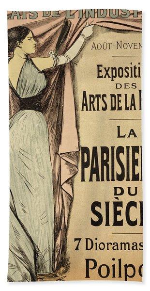 La Parisienne Du Siecle Hand Towel