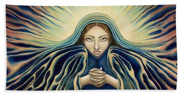 Lady Of Light Bath Towel