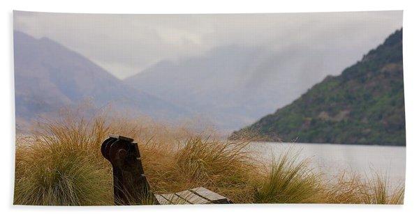 Lake Wakatipu Bench Hand Towel
