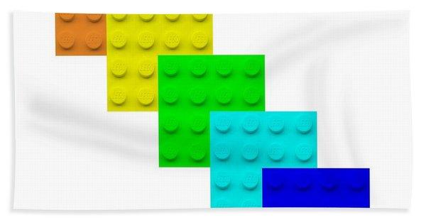 Lego Box White Bath Towel