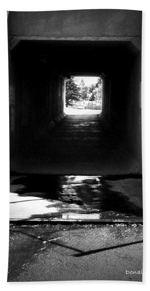 Lethbridge Underpass Bath Towel