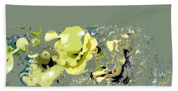Lily Pads - Deconstructed Hand Towel