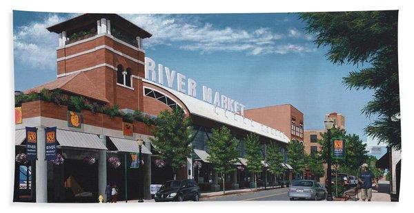 Little Rock River Market Hand Towel