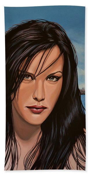 Liv Tyler Bath Towel